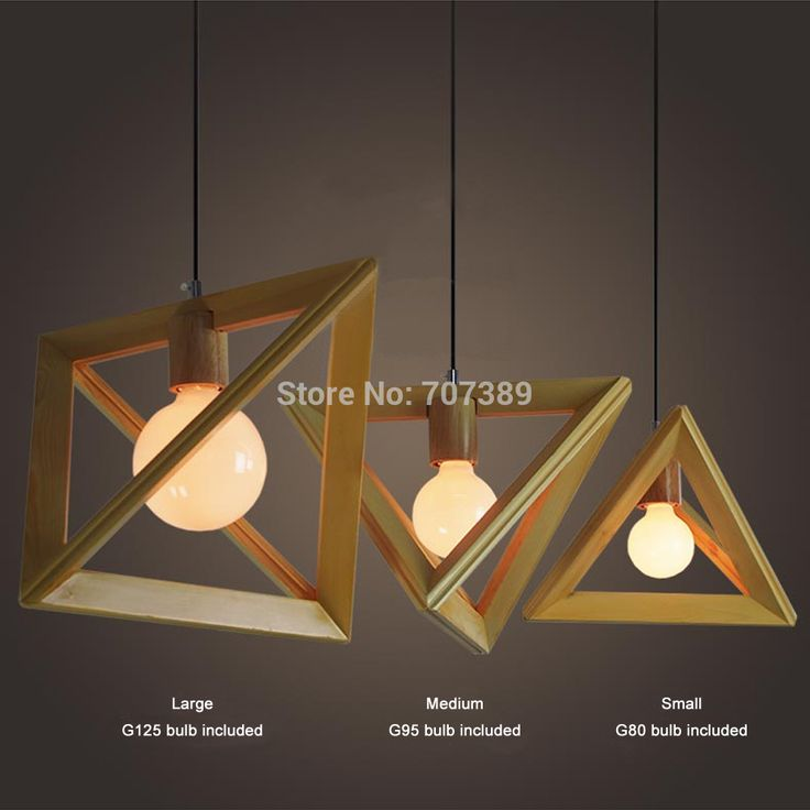 Handmade diameter 34/39/44cm 220V 40W G80/G95/G125 brief solid wood triangle pendant light/lamp,E27 base - http://www.aliexpress.com/item/Handmade-diameter-34-39-44cm-220V-40W-G80-G95-G125-brief-solid-wood-triangle-pendant-light-lamp-E27-base/32309669241.html