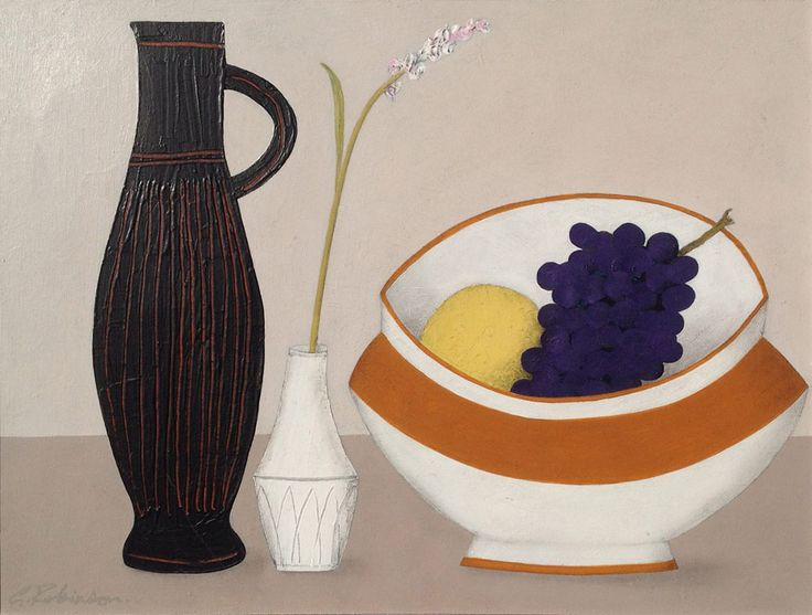 Geoffrey Robinson, still life, on www.moderncontemporaryart.co.uk