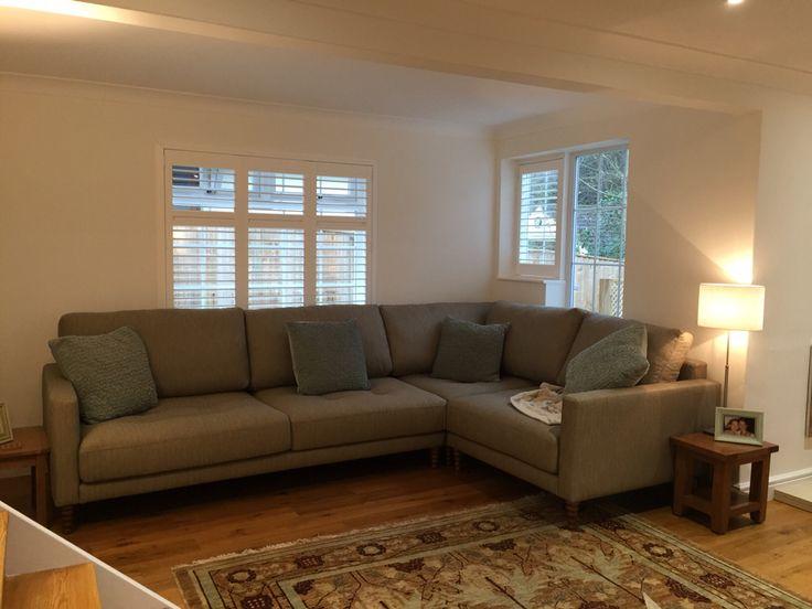 Ole Bespoke Deep And Modern Corner Sofa Unit Measuring 320 Cm X 215 Cm In  Wemyss