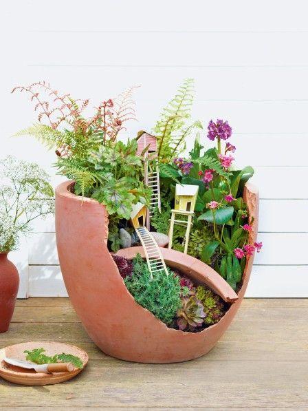 Mini-Blumenlandschaft