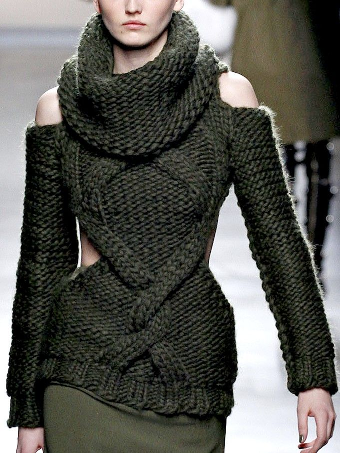 Prabal Gurung - like the criss crossing cables n cuts for the shoulders