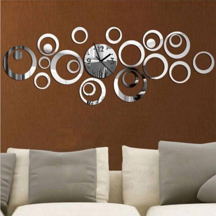 Modern Design mirror watch