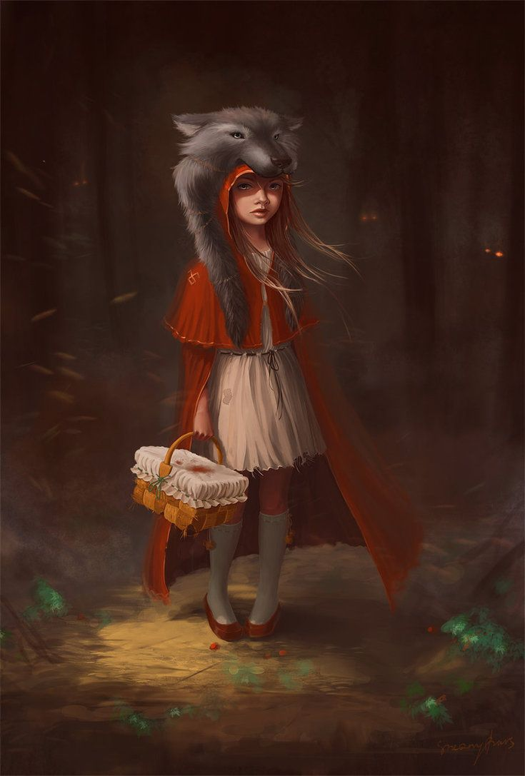 Little Red Riding Hood: The Art