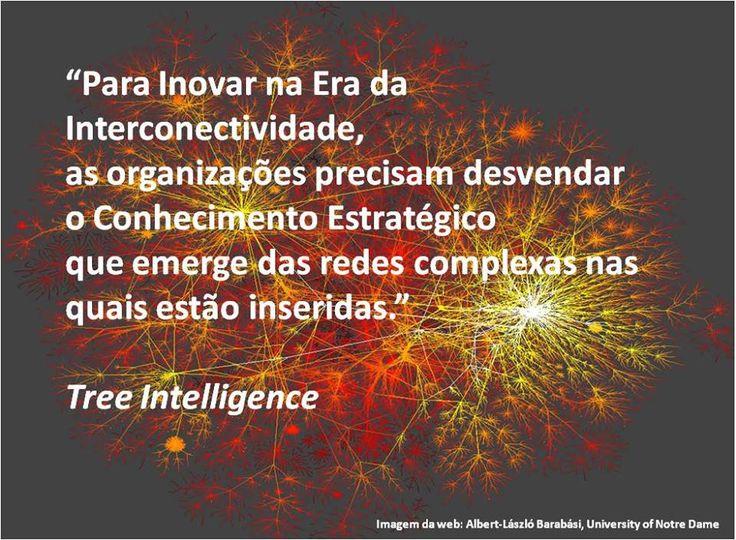"""""""Para inovar na Era da Interconectividade, as organizações precisam desvendar o Conhecimento Estratégico que emerge das redes complexas nas quais estão inseridas."""" www.treeintelligence.com #treeintelligence #inovação #conhecimentoestratégico #redesdeinfluência #análisederedesdeinfluência #netnografia"""
