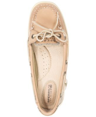 Sperry Women's Angelfish Boat Shoes - Tan/Beige 7.5M