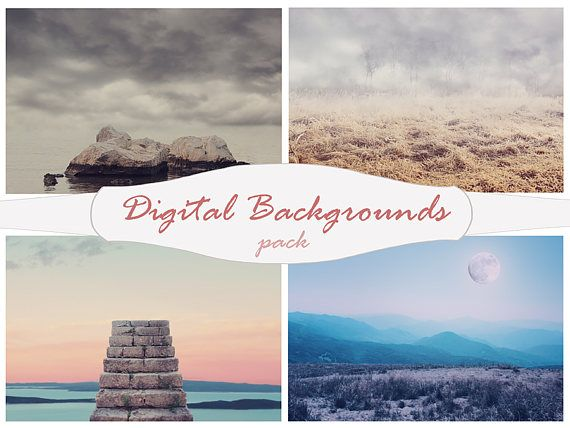 Digital Background, Digital Backdrop, Photo Background, photo drop, moon,Wallpaper backdrops, backgrounds,photoshop template,Jpeg