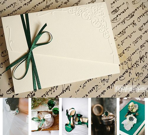 Yes, I know, emerald was the 2013 color of the year, but let's be honest – it has always been a classic. Paired with gold or ivory, it gives you a glam, vintage feeling that will bring …