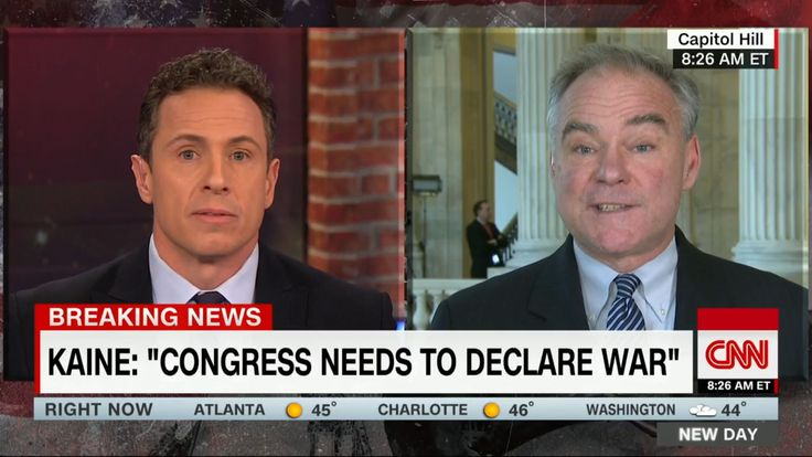 Sen. Kaine Condemns Trump for Bypassing Congress: 'There is no Excuse'