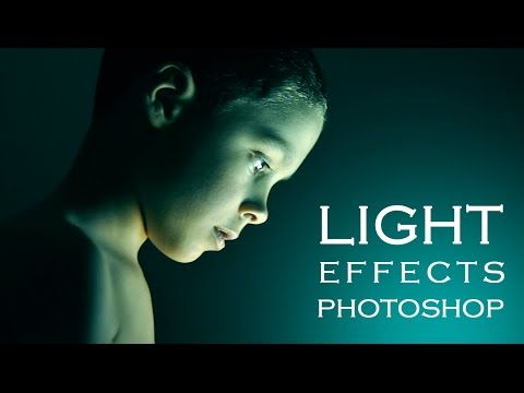 Photoshop Tutorial | How to get special light Photo Effects on Portraits - YouTube