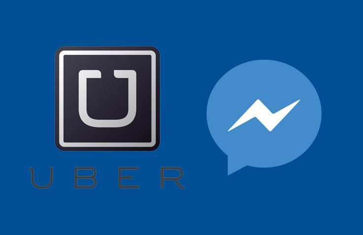 Book Uber Cab from iPhone Facebook Messenger iPhone App
