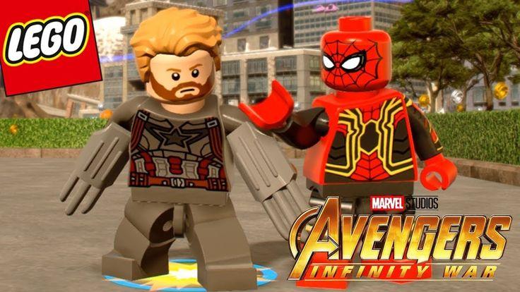 Avengers Infinity War Captain America in LEGO Marvel Super Heroes 2
