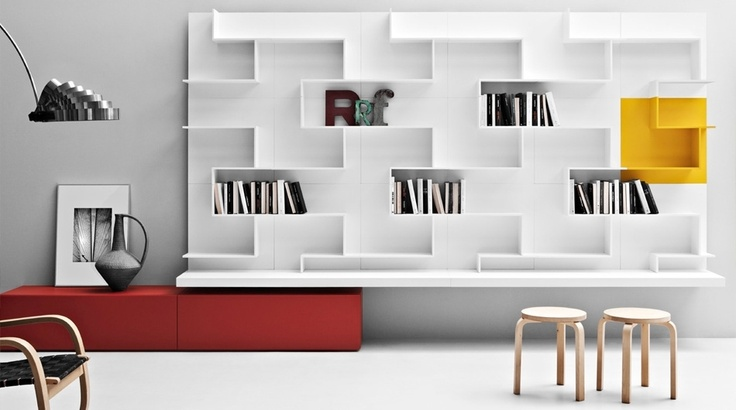 Zampieri - K #living in white lacquer.