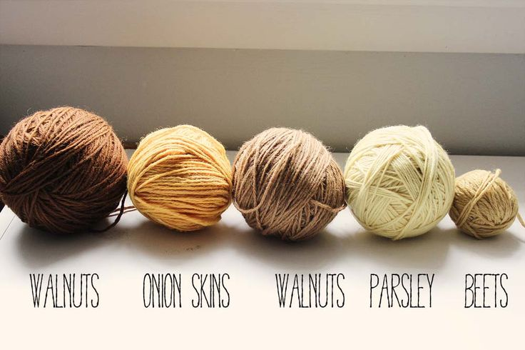 Naturally dyeing yarn http://lieslmade.com/2013/11/18/naturally-dyeing-with-parsley/
