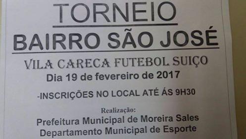 Departamento de esportes irá realizar torneiros em Paraná do Oeste e no Bairro São José