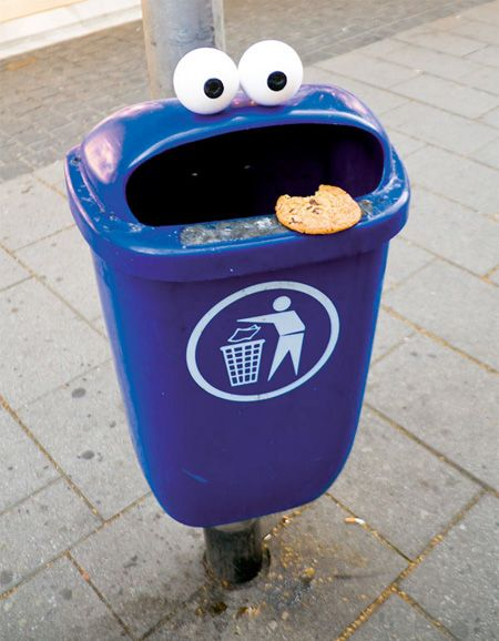 Eyes Street Art: Cookie Monster, Street Art, Funny Stuff, Humor, Things, Monsters, Streetart