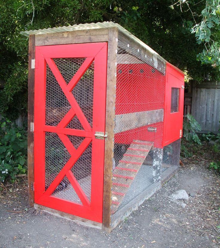 Diy modern chicken coop