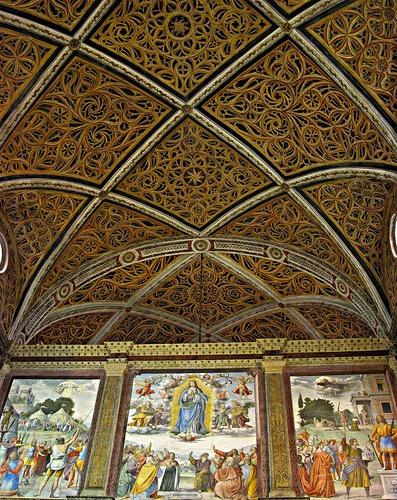 MILANO ... Monastero di San Maurizio Maggiore  #TuscanyAgriturismoGiratola