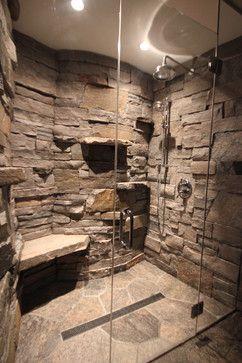 Kabine in einer Kabine – Gravenhurst ON rustikal – lieben Sie den Rockwand-Auftritt und die Regale