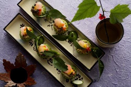 Kaiseki Ryori: Japanese Haute Cuisine|Origami Cupcake: Katie Badenhorst, Art