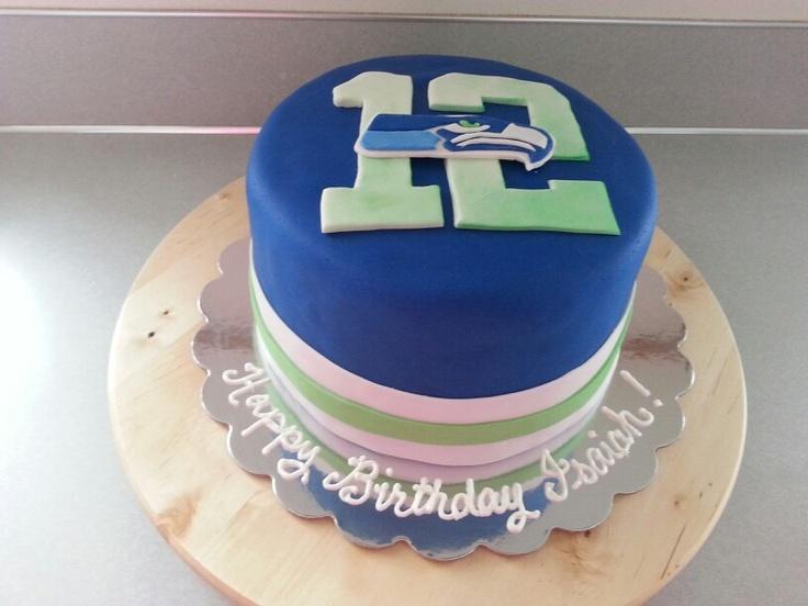 seahawks cake