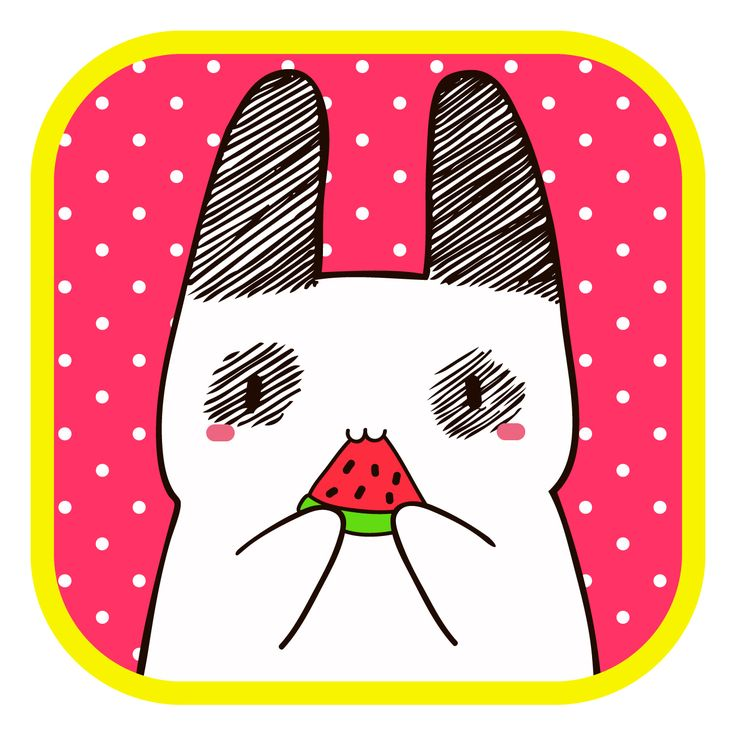#LlaveNegra #conejo #watermelon #summer #IlustraciónDigital #Illustrator #Photoshop.