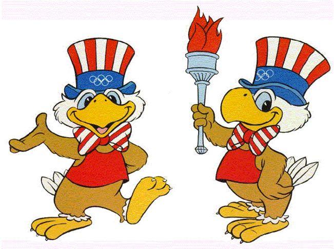 Sam the Olympic Eagle – Los Angeles 1984