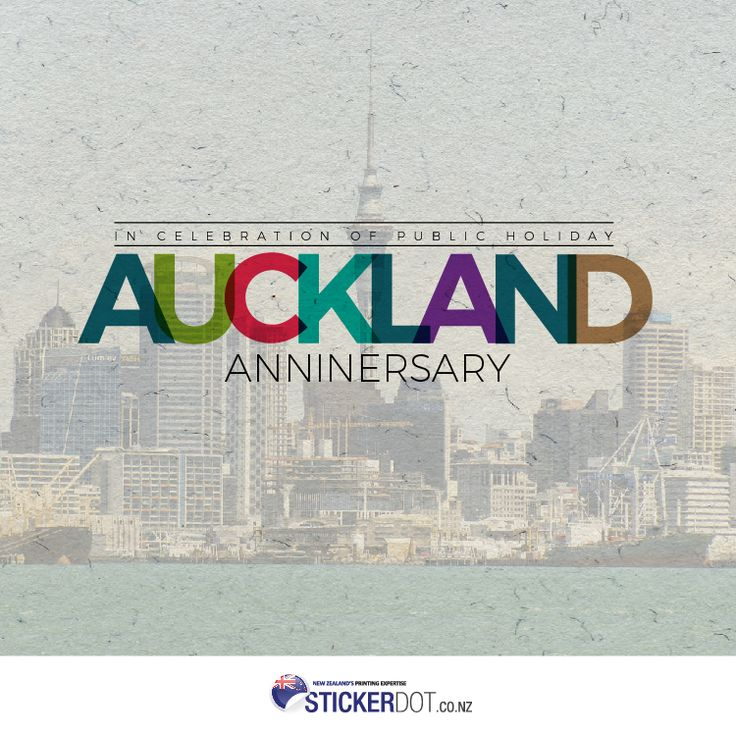 Happy Auckland Anniversary! #AucklandDay