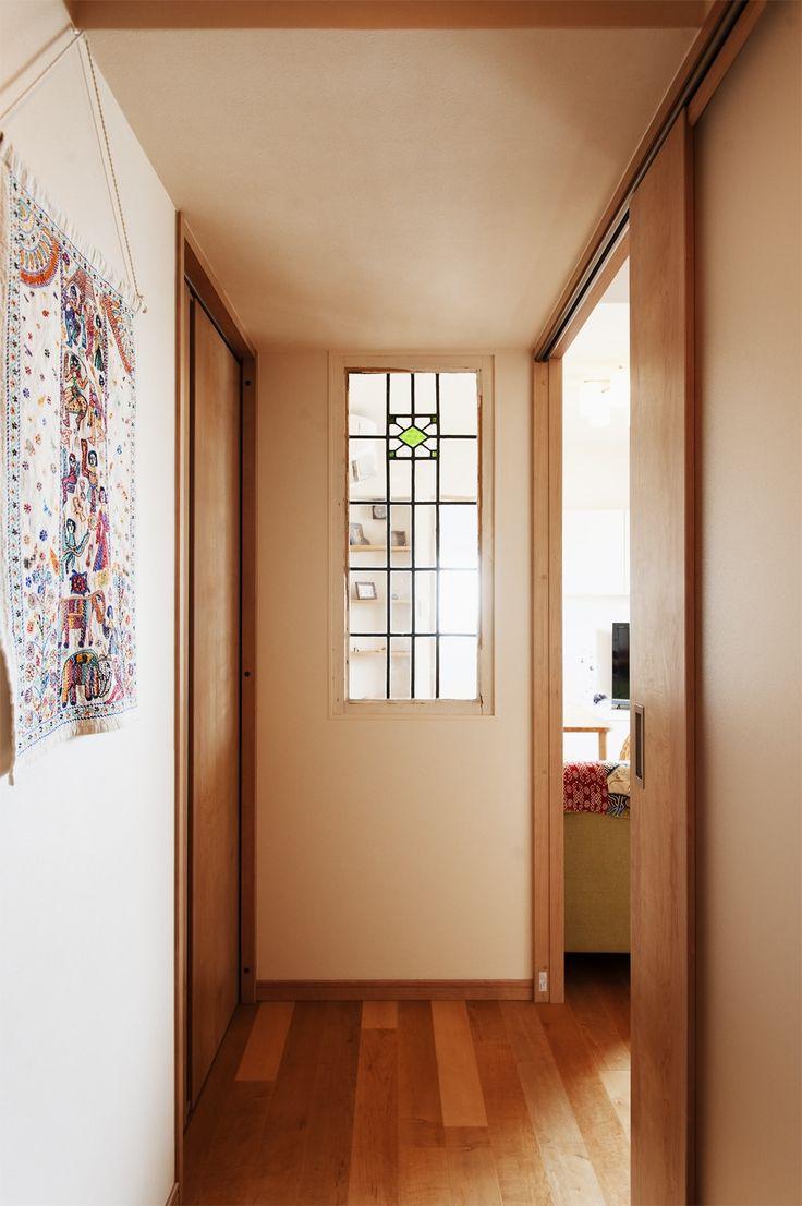 リフォーム・リノベーションの事例|室内窓 廊下|施工事例No.294愛犬とhappy!に暮らす心地よい家|スタイル工房