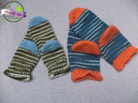 Moro skarpetki na drutach  Knitting moro socks