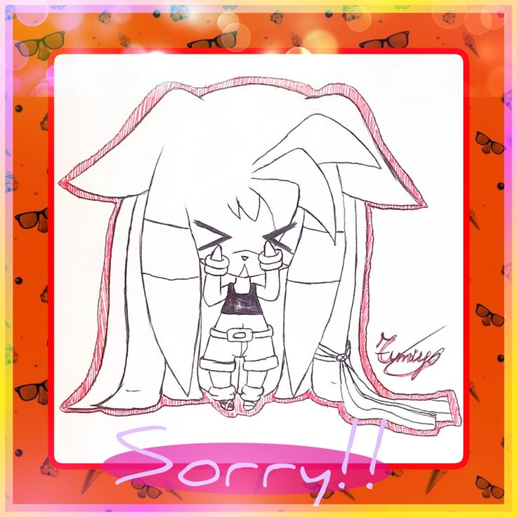 "I'm really sorry guys! I haven't posted anything for months...  I was busy with school and I didn't think of this board  Please excuse my carelessness!  But now that school is over, I can draw whatever I want without limits! ^^ So for those who still didn't receive the answer please write in comments the question  Thank you so much for your patience ^^"" ❤"