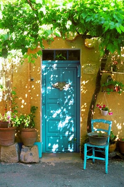 Correns, Provence, France | photo by John Galbo    ᘡղbᘠ