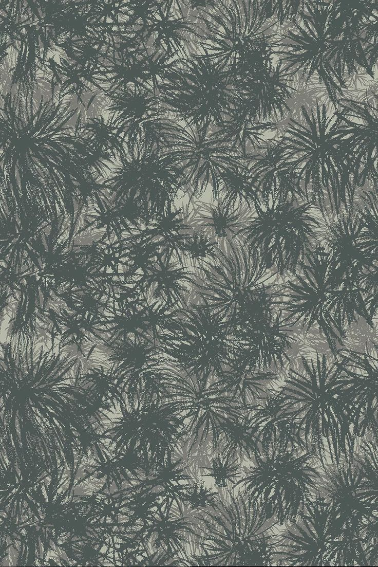 Verity - Fantail Coordinate The bush, inspired by native New Zealand Cabbage tree