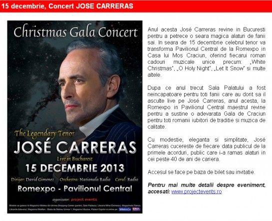 Evenimentele lunii decembrie la ROMEXPO
