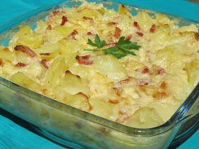 Patatas gratinadas (Tartiflette) con Thermomix