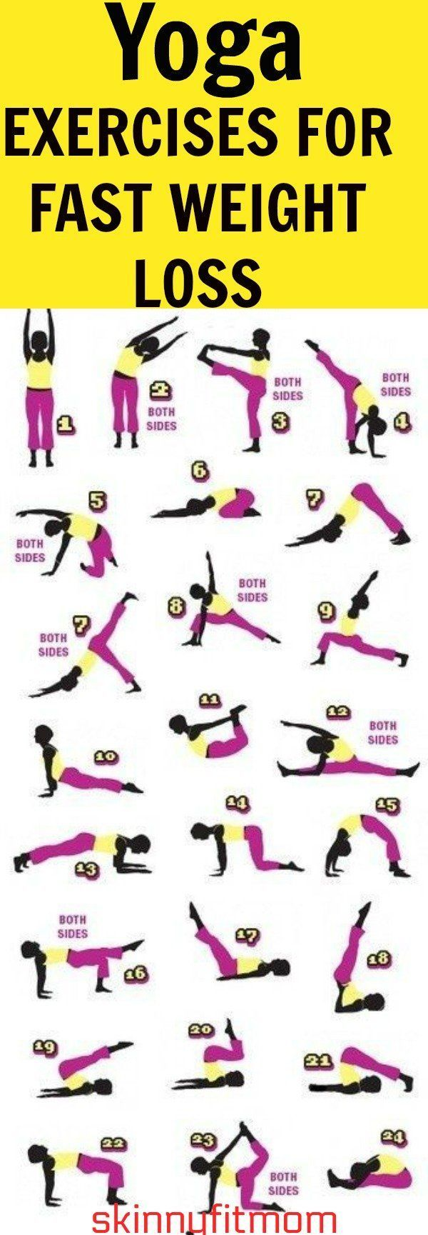 5 Best Yoga Exercises For Fast Weight Loss & Flat Belly