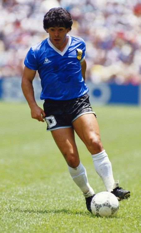 Diego Maradona, Argentina. One of the most gifted soccer players in history. One of the most flawed humans.
