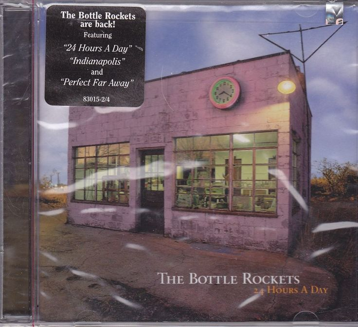 The Bottle Rockets / 24 Hours A Day / 1997 Atlantic Records Factory Sealed CD