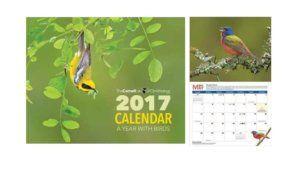 Free 2017 Cornell Lab Calendar