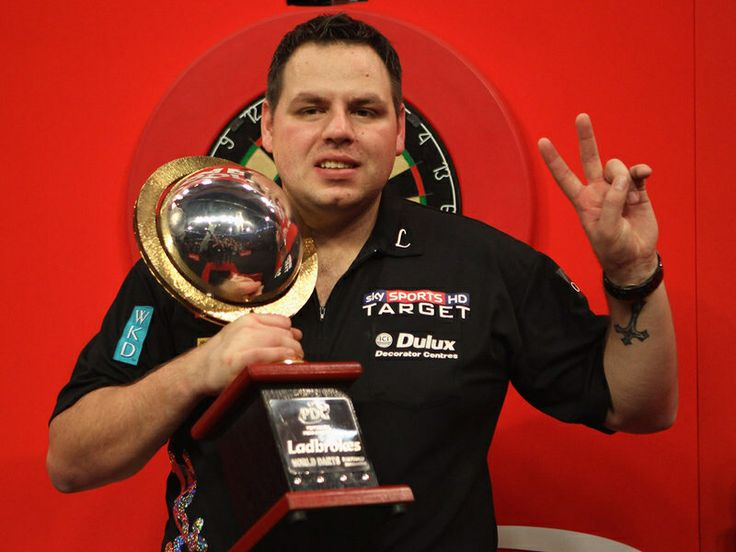 Adrian Lewis (Eng) PDC 2x World champion (2011,12)