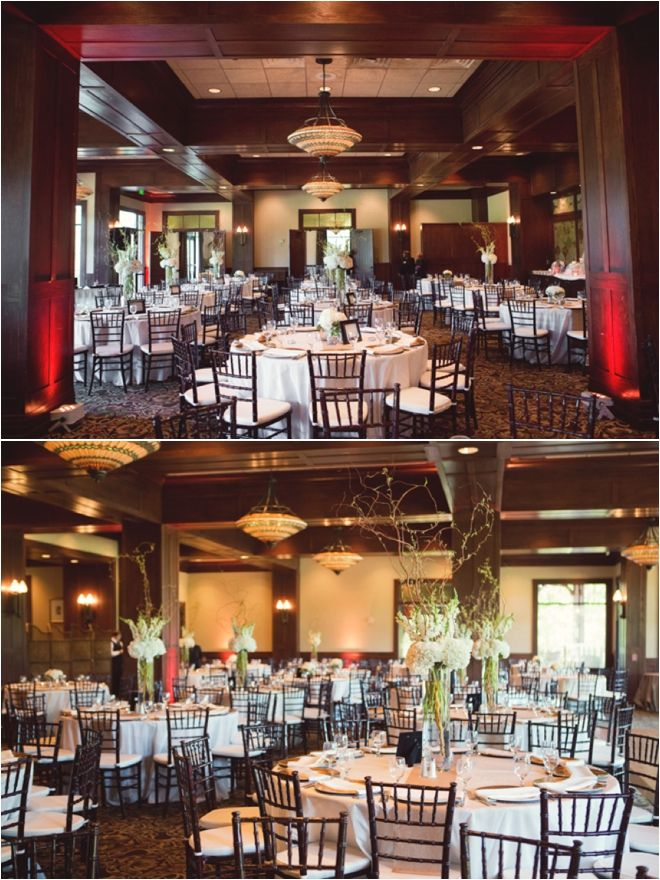 Clic White Wedding Decor At The Woodlands Country Club In Houston Tx Photography