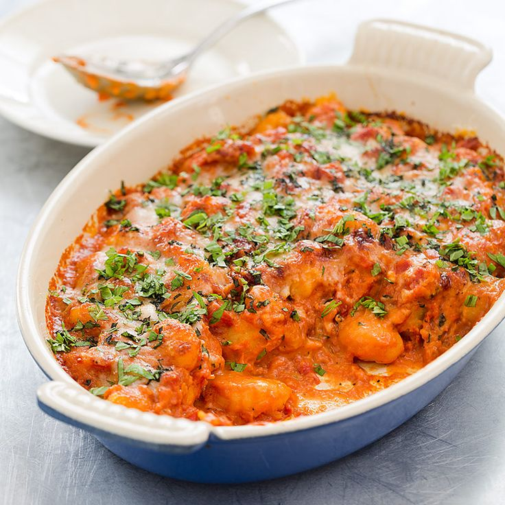 ... Sauce by cooking the browned gnocchi in a quick sauce enriched with