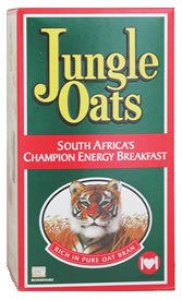 Jungle Oats - We often ate this or Quaker Oats for breakfast