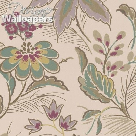 Montacute House in Somerset lends its name to both the collection and this stunning floral wallpaper. The mansion is a masterpiece of Elizabethan Renaissance architecture and design, and its surrounding gardens are a place of beauty and wonder. This pattern is based on an Elizabethan-style design but Nina Campbell has given it a clever contemporary twist. (Produced on a 52cm wide, 10m roll. The pattern repeat measures 61cm, with a half drop)