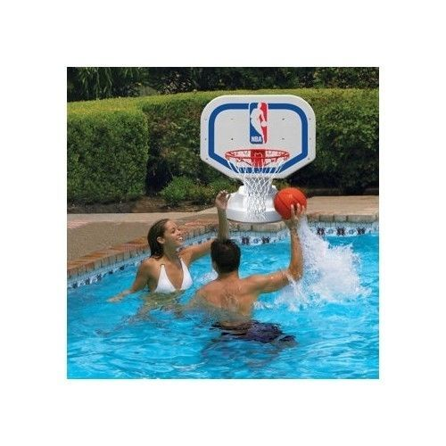 74 best water basketball images on pinterest basketball - Swimming pool basketball hoop costco ...