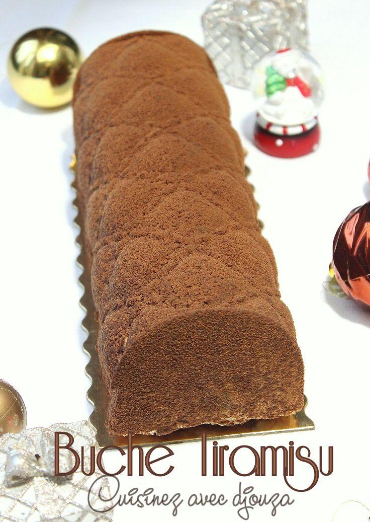 Buche de Noel tiramisu chocolat