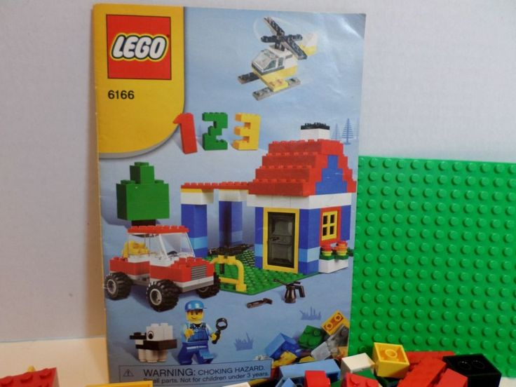 LEGO Building Set 6166 Complete with Instruction Booklet and Extra Blocks NO BOX #LEGO
