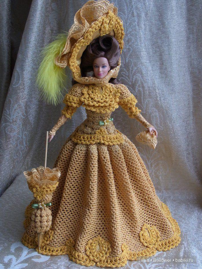 Вязаные наряды для Тоннер и Барби / Одежда и обувь для кукол - своими руками и не только / Бэйбики. Куклы фото. Одежда для кукол