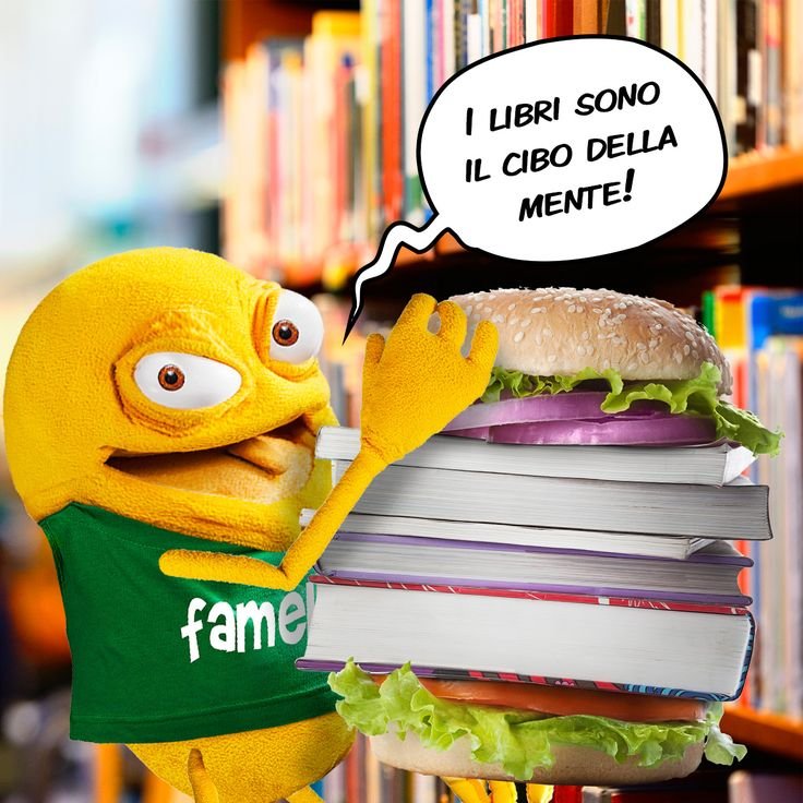 I libri sono il cibo della mente, io ne divoro molti!