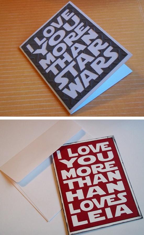 #starwars love notes.