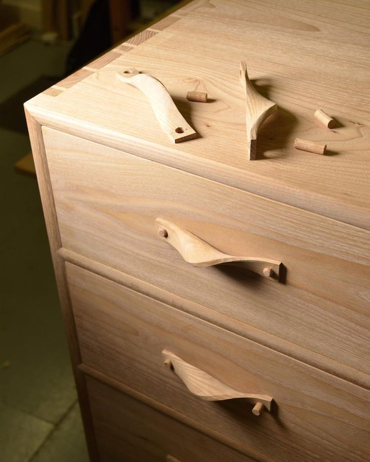 Designer maker student @jamesmacgregorwoodwork has been fitting his twisted handles to his beautiful elm chest of drawers. It's a scary moment when you start drilling holes into the work piece that you have spent hundreds of hours working on. I know James found it pretty nerve racking. You know the feeling?